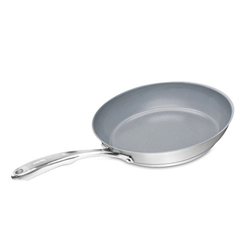 Chantal SLIN63-24C Induction 21 Steel Ceramic Coated Fry Pan  - Key Features