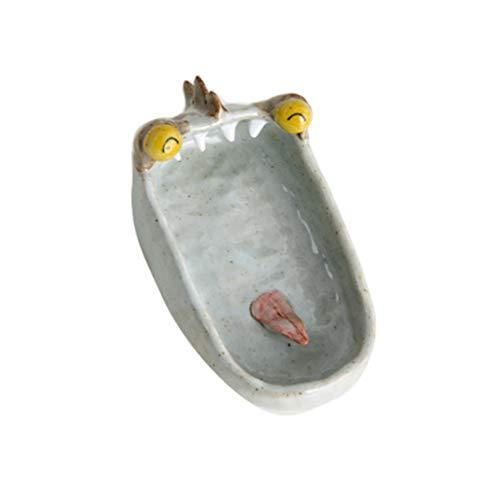 ZNZN Cenicero Ceniceros para Cigarrillos Cerámica de cerámica a Prueba de Viento Grandes Cenizas para Interiores/al Aire Libre Bandeja Cenicero Cigarrillos (Color : B)