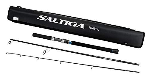 Daiwa SATR743MS Saltiga Saltwater Travel Rod, Sections= 3, Line Wt. = 30-50 Braid
