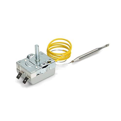 REPORSHOP - Termostato Termo Electrico Regulable Fagor Edesa Negarra 30-75 Grados Capilar 155mm