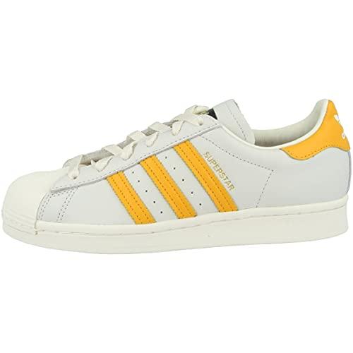 adidas Zapatillas para hombre Low Superstar, color Gris, talla 43 2/3 EU