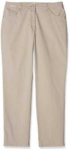 Raphaela by Brax Damen Corry Fame | Comfort Plus Jeans Hose, Beige (Light Taupe 55) , W31/L32 (Herstellergröße: 40)