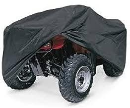 Quad Works Seat Cover Black for Polaris SPORTSMAN 800 Twin 4x4 EFI 2005-2007