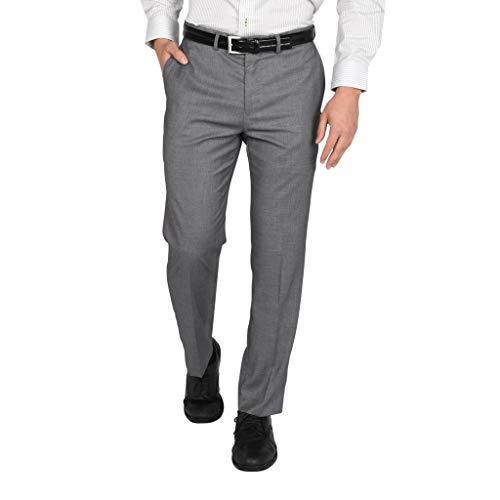 Dockers Signature Slim Fit Pantalón de vestir con elástico para hombre - gris - 33W x 32L