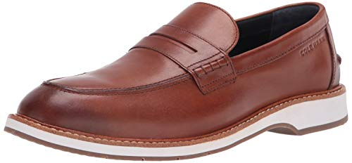 Cole Haan mens Loafers,British Tan/Ivory,9.5 M US