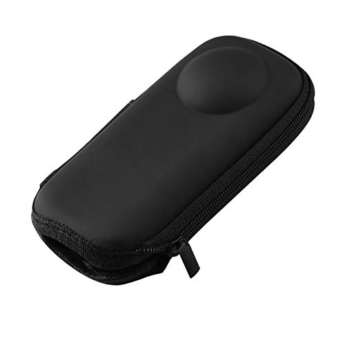 POHOVE Funda de transporte rígida compatible con Insta-360 One X/X2 Hard Shell Bag impermeable PU Funda protectora de viaje para Insta360 Action Camera Storage Bag