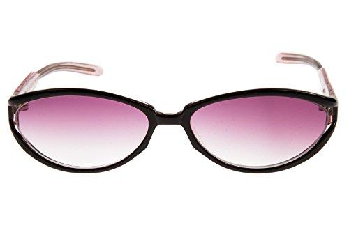 Viventy Damen Sonnenbrille 7596 597, Farbe:Schwarz