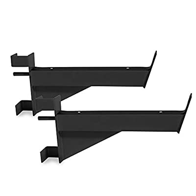 CAP Barbell Safety Catches / Spotter Arms for CAP Barbell Power Rack Exercise Stand Series, Black