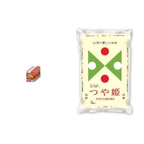 味の素 CookDo きょうの大皿 肉みそ大根用 90g×5個 +  【精米】山形県産 白米 つや姫 5kg 令和元年産