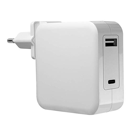 Mars Gaming MNA2W Blanco, Cargador Universal 90W EU/US, USB-C PD&QC 3.0, 6X Adapt