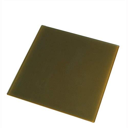 ZLININ 235 * 235mm Upgraded Carbon Silicon Crystal Glass Platform Build Hotbed Heated Bed Glass Platform for 3D Printer