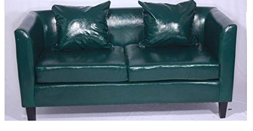 CC.Stars Best Price Mattress,,Bed Futon Sofa for Adult and Kids Folding Mattress,Retro Double Sofa on The bar Deck-Green