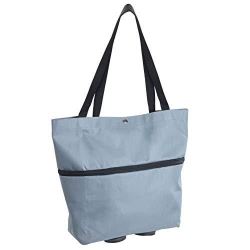 WENKO Einkaufstasche Trolley, klappbar, 3 in 1
