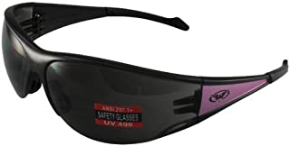 Global Vision Full Throttle Glasses (Purple Frame/Smoke Lens)