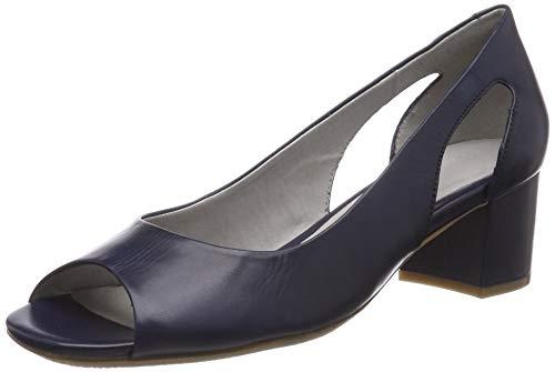 Gerry Weber Shoes Damen Faro 03 Peeptoe Sandalen, Blau (Kobalt 550), 41 EU