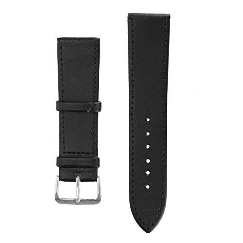 Correa de reloj, resistente, cómodo y práctico accesorio de reloj para el hogar para relojeros para taller de reparación de relojes para trabajadores de reparación de relojes(22mm black)