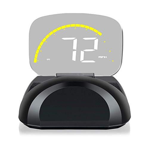 ニコマク NikoMaku HUD ヘッドアップディスプレイ OBD2 GPS 両方同時対応【本物のHUD C700S 2重映像なし】 タコメーター 日本語説明書 後付け 車載スピードメーター 過速度警告搭載