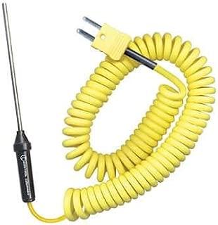 Digi-Sense Type K Thermocouple Probe; General-Purpose Penetration, Coiled Cable