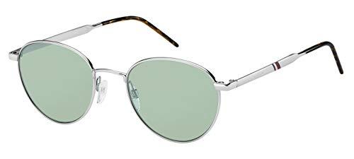 Tommy Hilfiger TH 1654/S Gafas de sol, Multicolor (Palladium), 52 Unisex Adulto