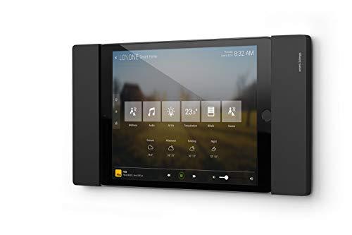 smart things solutions s09 b sDock Fix mini - Abschließbare Wandhalterung und Ladestation zur dauerhaften Installation für Apple iPad mini 4+5 Schwarz