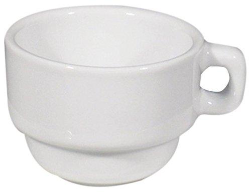 Saturnia Gobelet Caffe 8 cl Linea Roms Lot de 12