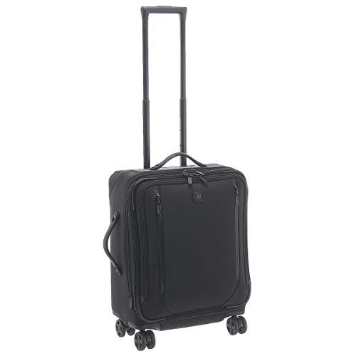 Victorinox Lexicon Dual-Caster Wide-Body Carry-On - Valigia Trolley Bagaglio a Mano Espandibile - 25x44x56cm - 42l - 3,9Kg - Nero