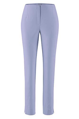 Stehmann INA740 The Orginal Stretchhose Pull-on Hose Collection *** mit EXTRA Prinidor Schal/-Tuch passend zur Hosenfarbe *** (48, Blue heron-2019)