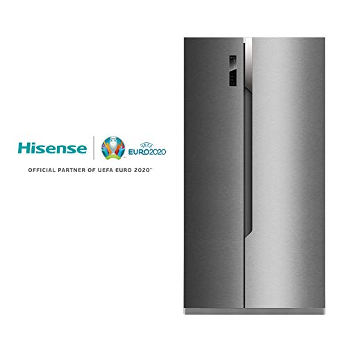 Hisense SBS518A+EL Side-by-Side/A+/178.6 cm Höhe/411 kWh/Jahr/339 L Kühlteil/177 L Gefrierteil/Total No Frost/Multi Air Flow System