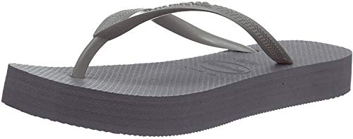 Havaianas Slim Flatform, Infradito Donna, Grigio (Steel Grey 5178), 39/40 EU