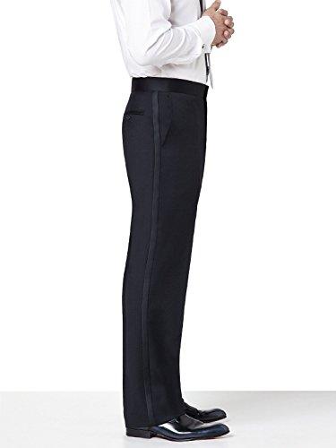 Neil Allyn SLIM FIT Flat Front, Comfort Waist uxedo Pants-33