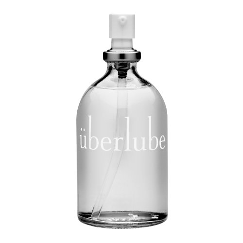 Überlube Luxury Lubricant | Latex-Safe Natural Silicone Lube with Vitamin E | Unscented, Flavorless, Zero Residue, Works Underwater - 100ml