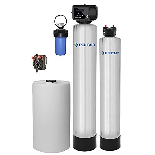 Pentair Pelican WF4-P Iron & Manganese Filter System Combo (1-3 Bathrooms)