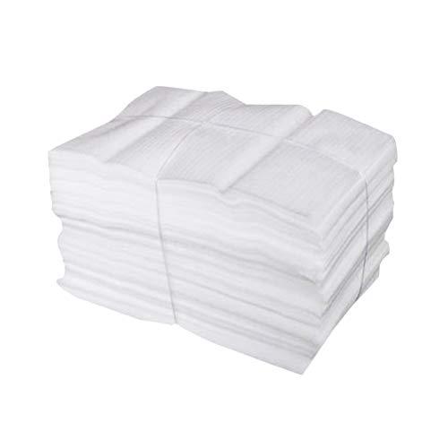 NUOBESTY - Bolsas de espuma para cojines, segura para tazas, vajilla, cristal,...