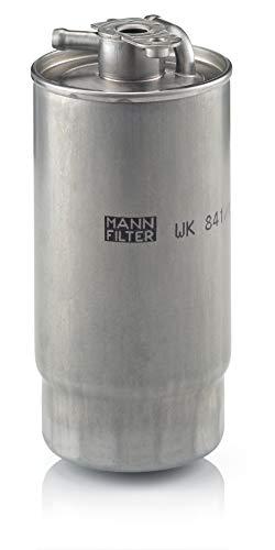 Original MANN-FILTER Filtro de Combustible WK 841/1 – Para automóviles