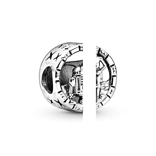 2 unids / lote oferta especial serie Animal colgante de cuentas clásicas que se ajustan a pulseras originales para mujeres y niños fabricación de joyas DIY