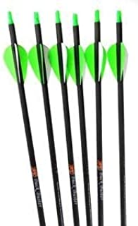 Summit Archery Products Victory Buck Buster Carbon Arrows (Dozen Pack) - 350 Spine