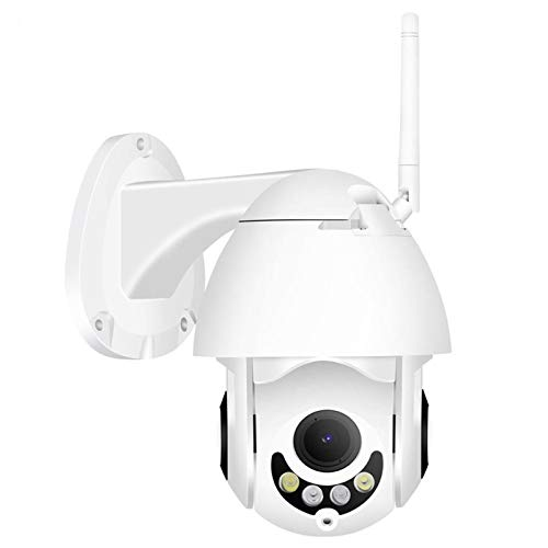 WIFI, cámara exterior de la cámara PTZ IP 1080p Cámaras Speed Dome CCTV de la seguridad WIFI 2MP exterior IR Home Audio bidireccional PTZ CCTV (Sensor Size : 1080P 12V2A Power)