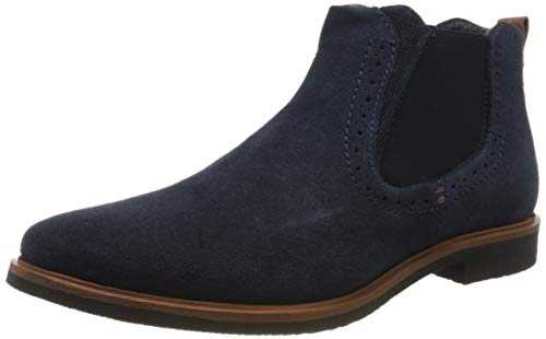 bugatti Herren 323165381400 Chelsea Boots, Blau, 46 EU