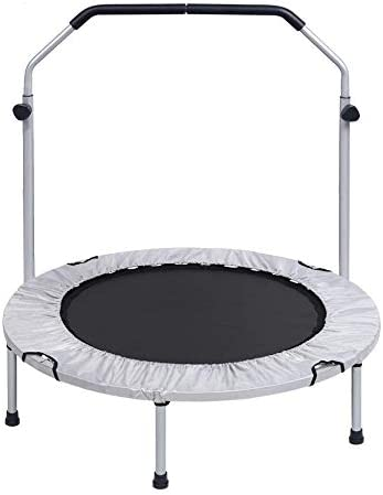 Heavy Duty Trampoline 【All Ages】 Upgraded 40