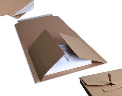 Buchverpackung für DIN A4 Wickelverpackung | 25 Stück