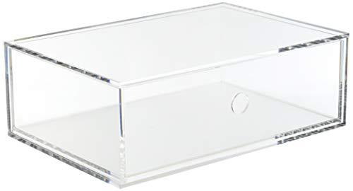 MUJI Caja de almacenaje, 1 cajon, Acrílico, Semitransparente, L