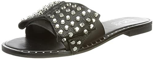 Replay Damen Nairobi-HAYTOR Flacher Slipper, Black 003, 41 EU