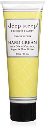 Deep Steep Crème pour les mains, 56,7 gram, Citron Crème