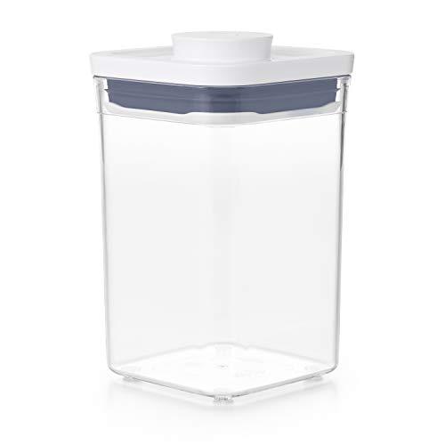OXO Good Grips POP-Behälter – luftdichte, stapelbare Aufbewahrung von Lebensmitteln – 1 L für Rohzucker und mehr