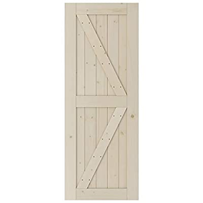 J Shape Single Door Small Size Sliding Barn Door Hardware with Barn Door Kit