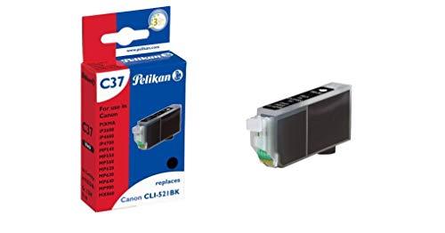 Pelikan C37 Druckerpatrone (ersetzt Canon CLI-521BK) schwarz