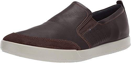 Ecco Herren Collin 2.0 Slip On Sneaker, Braun (Coffee 51869), 45 EU