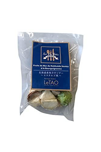 LeTAO ( ルタオ ) 北海道産魚介のソテー〜エスカルゴ風〜 1袋(約140g)