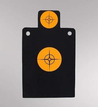 AR500 Steel Silhouette Reactive Reset Pistol & Rifle Target