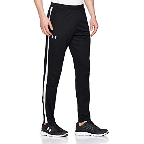 Under Armour Sportstyle Pique Track Pants, Pantaloni Uomo, Nero (Black 001), S